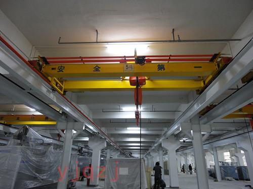 昱嘉成功案例_亚伦工业科技(惠州)有限公司5吨双梁起重机