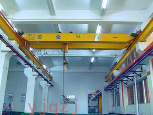 昱嘉成功案例_万金机械有限公司7.5吨双梁起重机