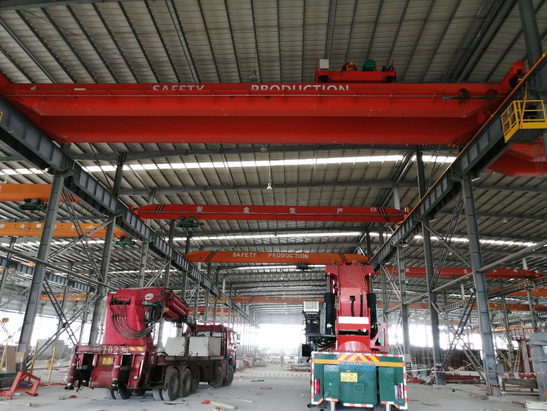 广东昱嘉老客户--有利华32吨安装